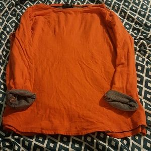 Ralph Lauren orange shirt
